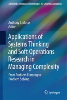 Our Chapter in Springer Volume on Managing Complexity