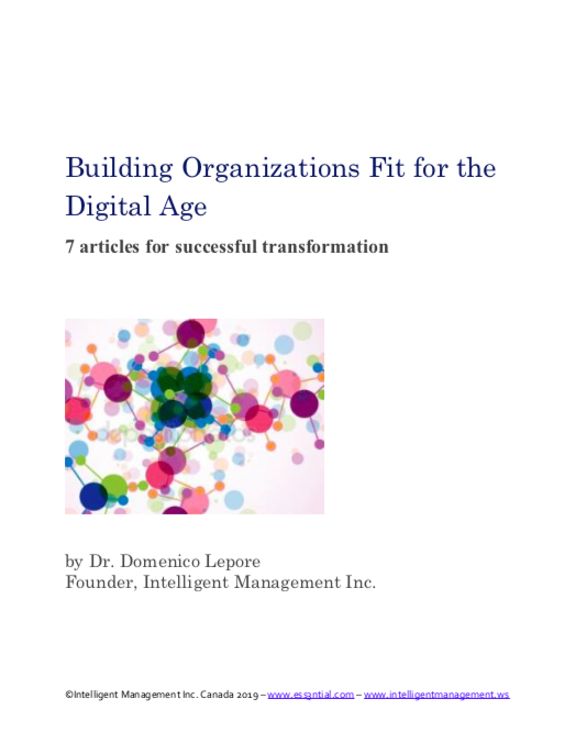 Download our Series 'Building Organizations Fit for the Digital Age'