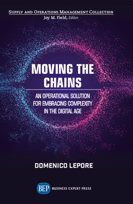 Domenico's latest book 'Moving the Chains' is now available.