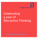 Celebrating a Year of Disruptive Thinking