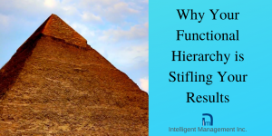 Why Your Functional Hierarchy Is Stifling Your Results