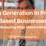 Cash Generation in Project Based Businesses – Measuring What Matters Most