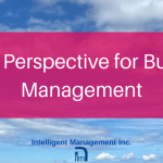A New Perspective for Business Management