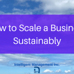 How to Scale a Business Sustainably