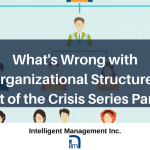 What's Wrong with Organizational Structure – Out of the Crisis Series Part 2