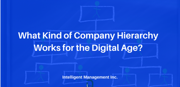 What Kind of Company Hierarchy Works for the Digital Age?