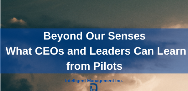 Beyond Our Senses – What CEOs and Leaders Can Learn from Pilots