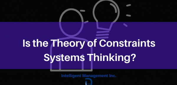 Is the Theory of Constraints Systems Thinking?